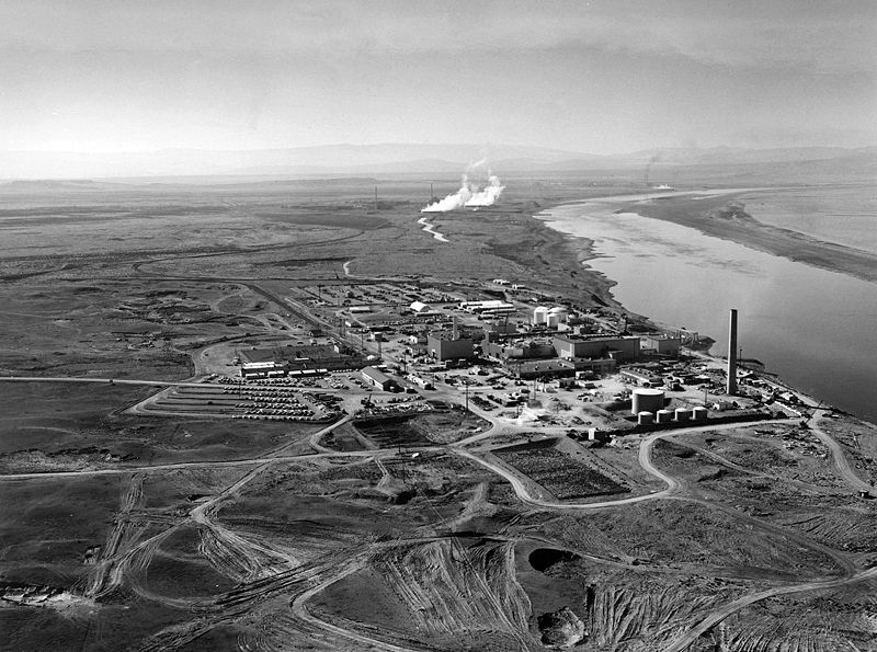 Hanford B Reactor Making plutonium for nuclear weapons