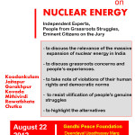 People's Hearing on Nuclear Energy: CONCEPT NOTE