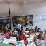 Protesters in Delhi demand scrapping of all reactors